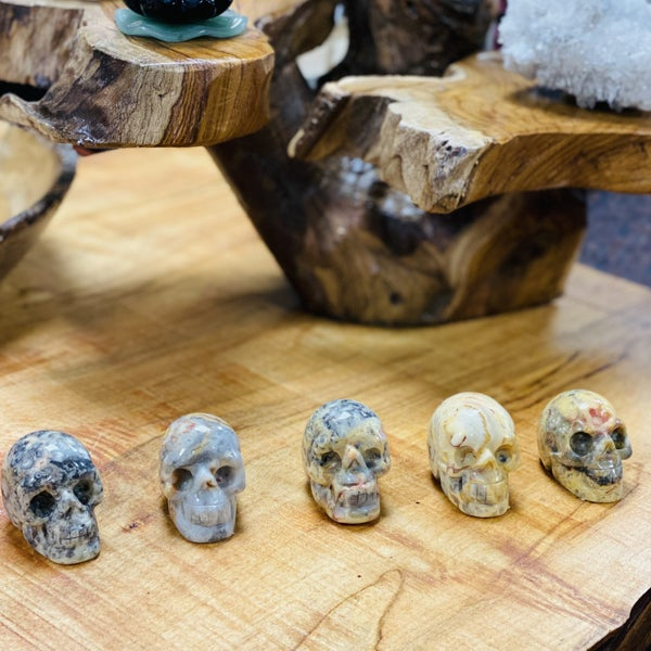 Crazy Lace Skulls - Small
