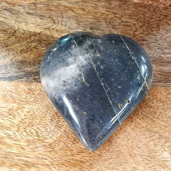 Dumortierite Heart - Small