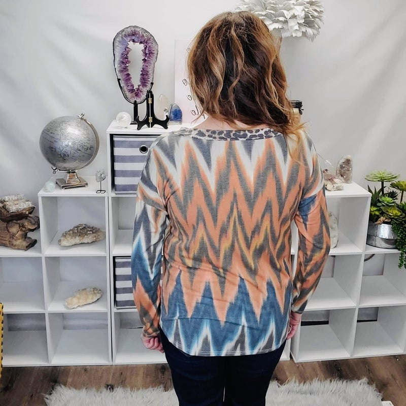 A Little Zig with your Zag Top