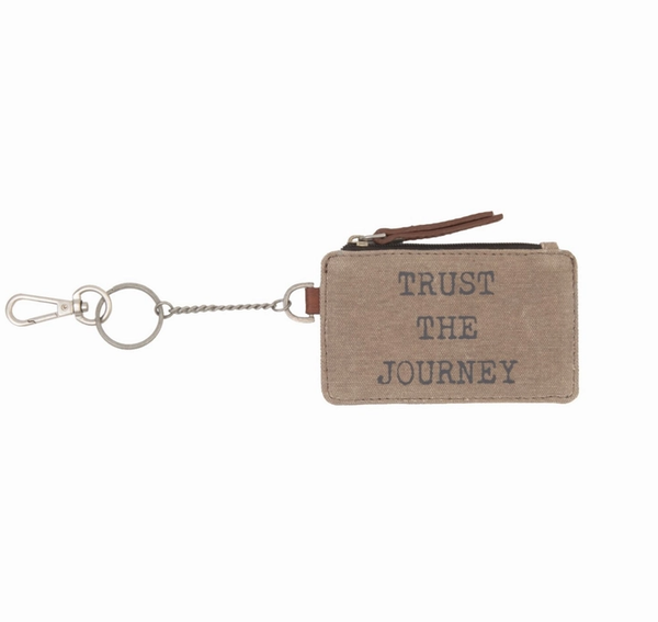 Trust The Journey ID Pouch