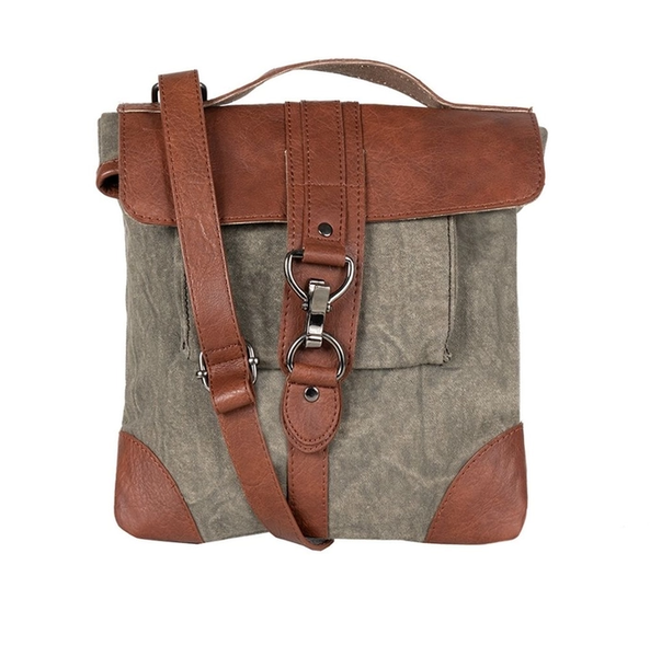 The Perfect Travel Crossbody Bag - Moss