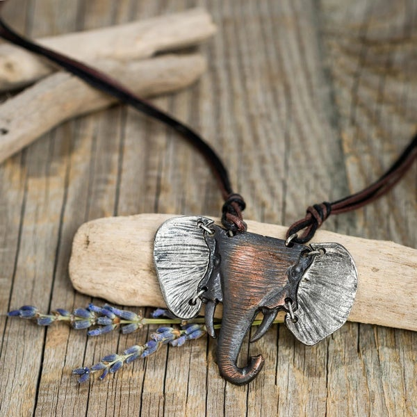 Hathi Elephant Necklace