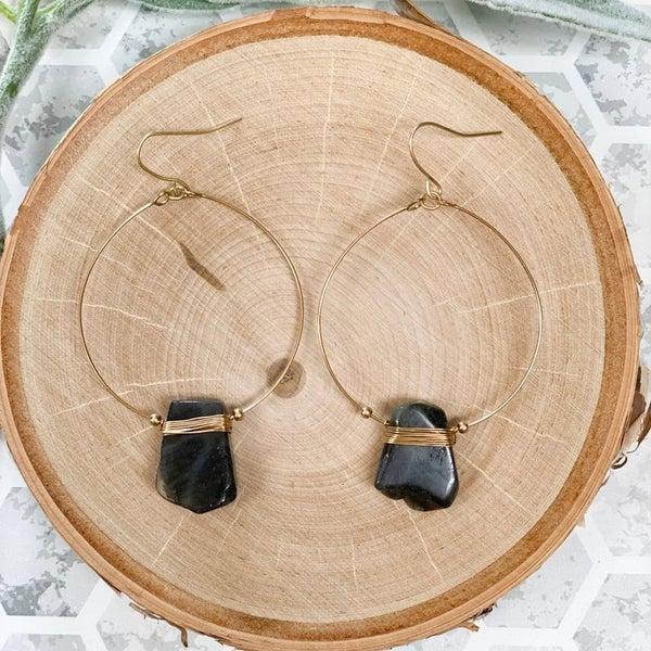 Faith Drop Earrings