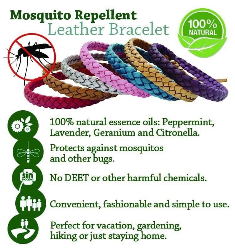 Mosquito repellent bracelets