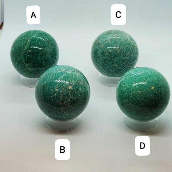 Amazonite Spheres - Random