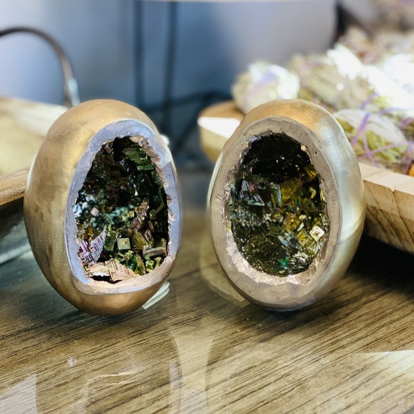 Bismuth Egg