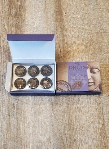 Buddha's Bliss Incense Cups 6pc