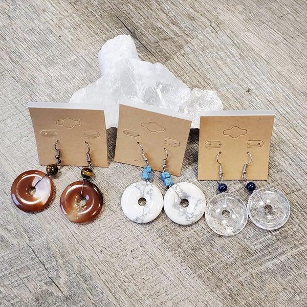 Donut Earring