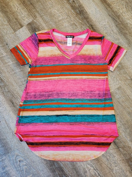 V-Neck Serape Top
