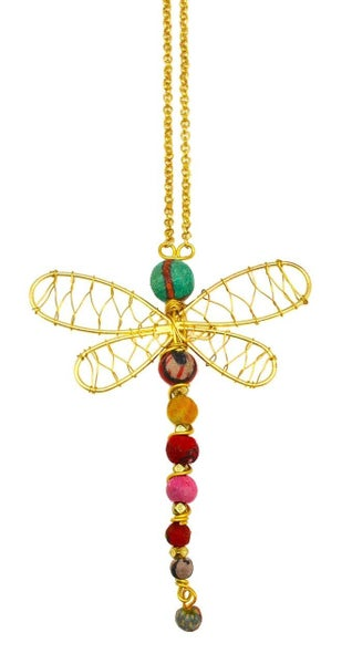 Aasha Necklace Dragonfly