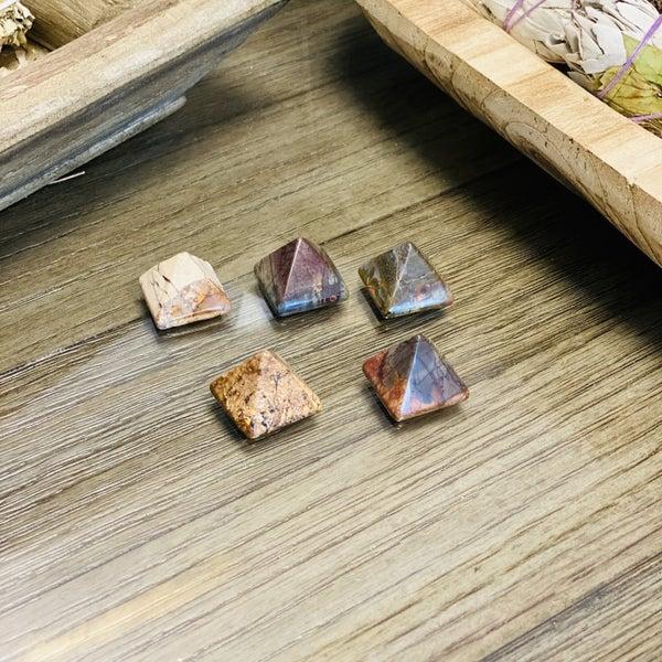 Picasso Jasper Pyramids - small