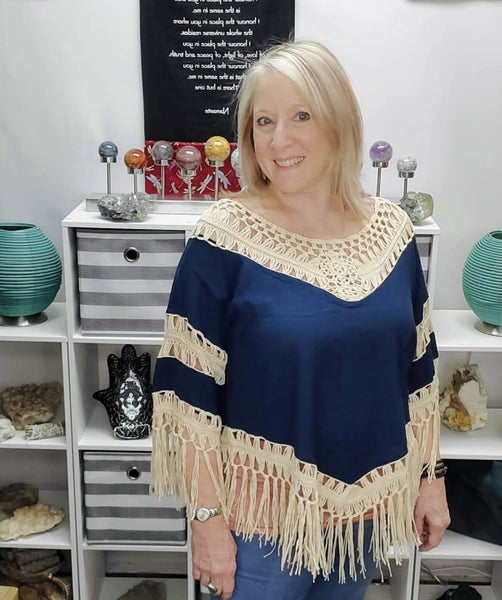 Wild About You Crochet Frayed Top