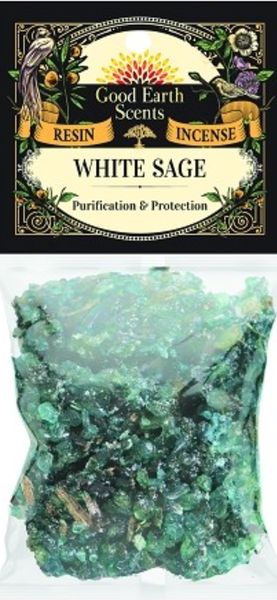 White Sage Resin