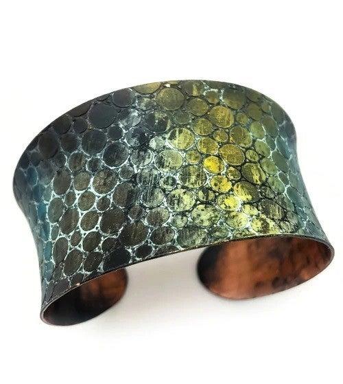 Copper Patina Cuff 278