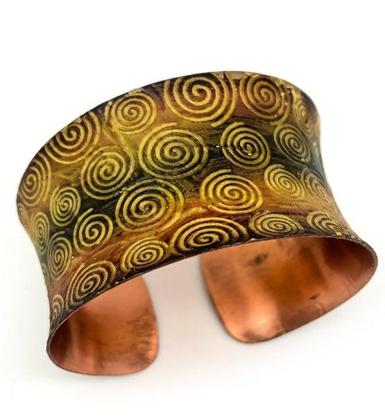 Copper Patina Cuff 280