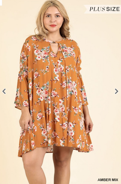 Fresh Sunny Days Floral Dress