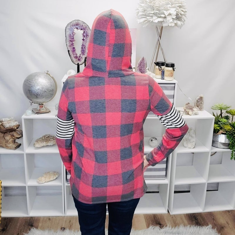 The Perfect Plaid Hoodie