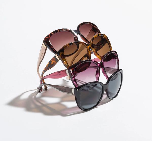 Animal Print Wide Eye Sunglasses