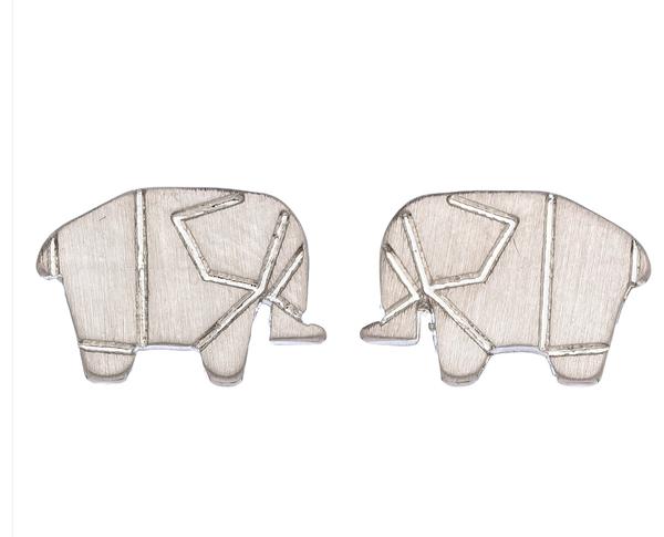 Aztec Elephant Earring