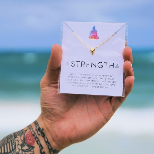 Strength Affirmation Necklace