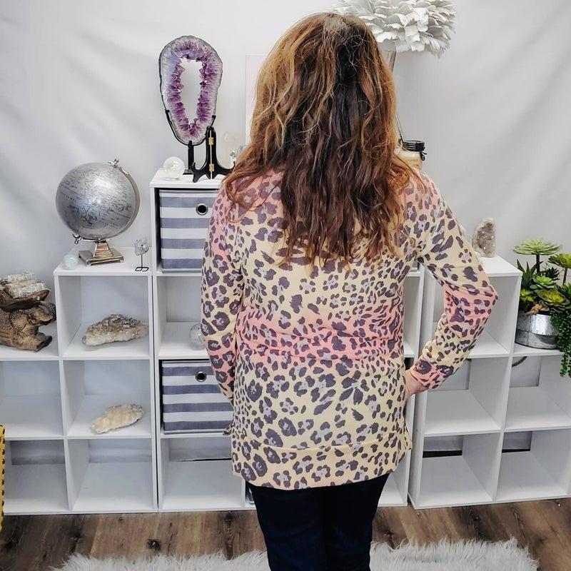 Brandi's Sunset Leopard Top