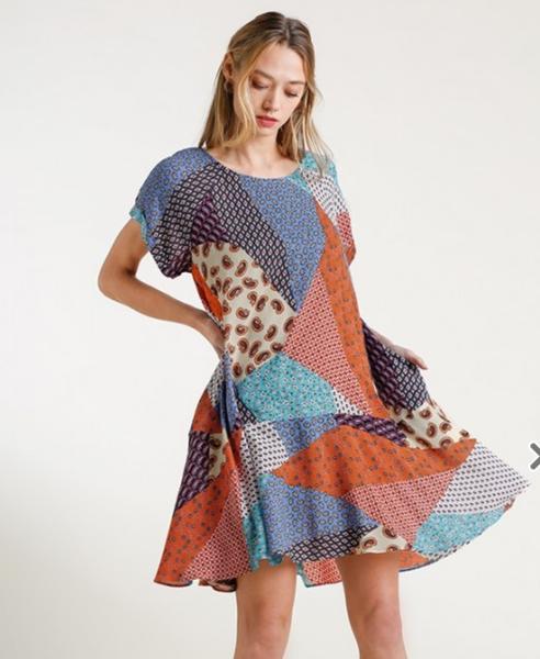 Patchwork Princess Dress