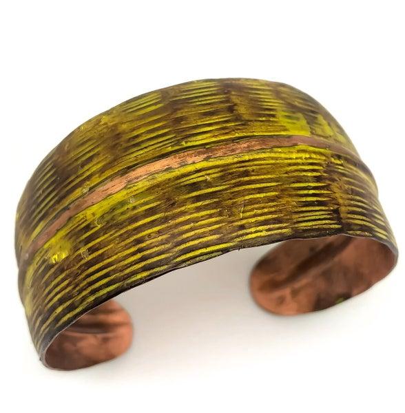 Copper Patina Cuff 281