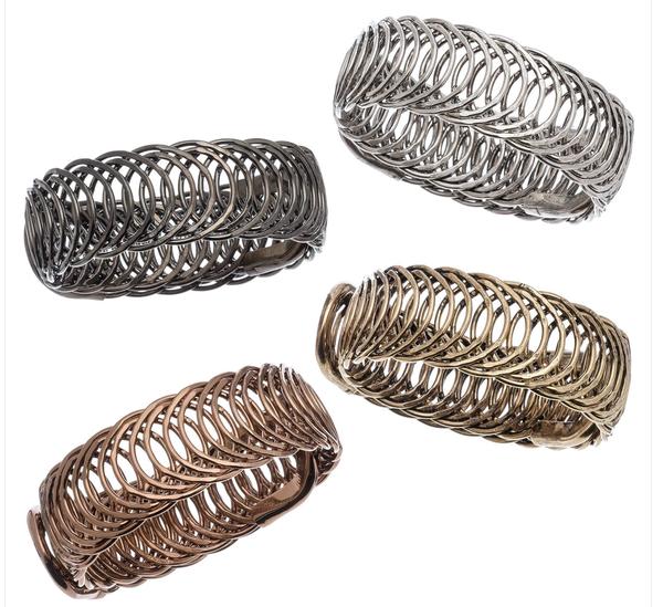 Circle Link Bracelets
