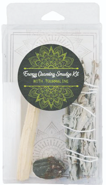 Energy Cleansing Smudge Kits - Tourmaline