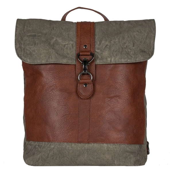 The Unforgettable Back Pack / Tote - Moss