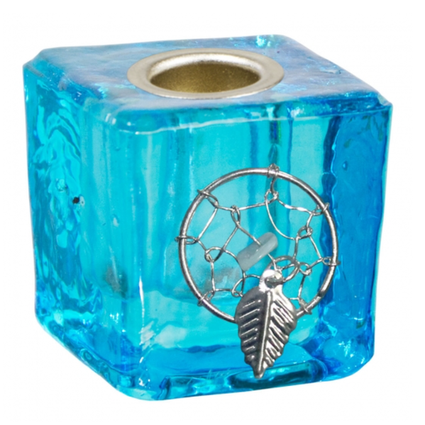 Mini Glass Candle Holder Dreamcatcher
