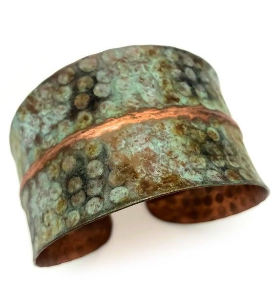 Copper Patina Cuff 288