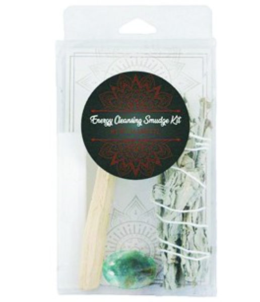 Energy Cleansing Smudge Kits Fluorite