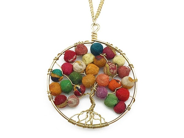 Aasha Tree of Life Necklace
