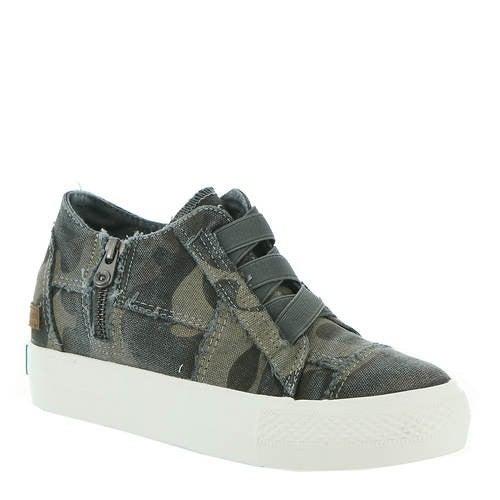 Camo BlowFish Mamba Wedge Sneaker