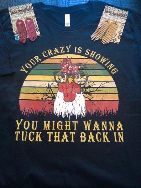 Put your crazy away