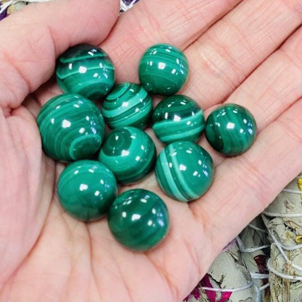 Malachite Mini Spheres