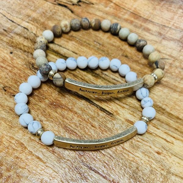 Hope Faith Dream Bracelet