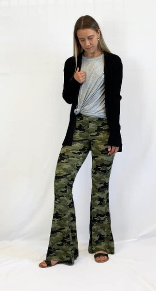 Bell Bottom Camo - Flare Pant