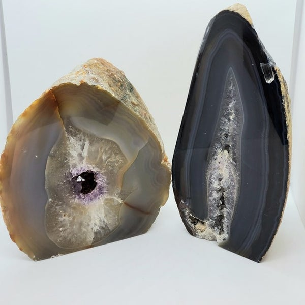 Agate Geode Free Forms - Large