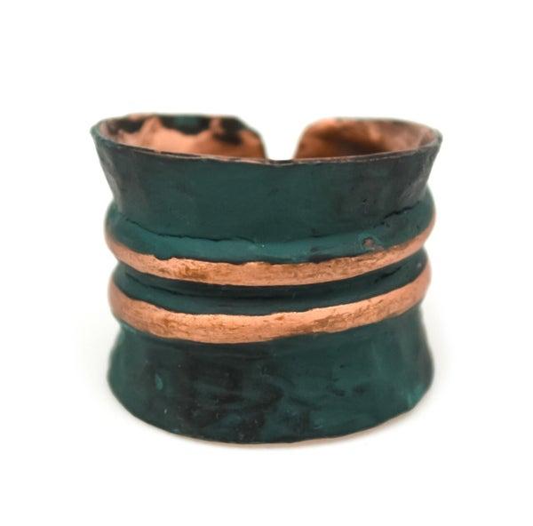 Copper Patina Bracelet 287