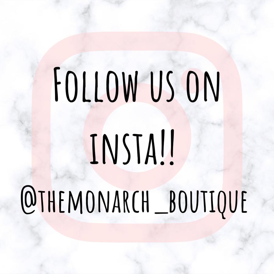 Follow us on insta!