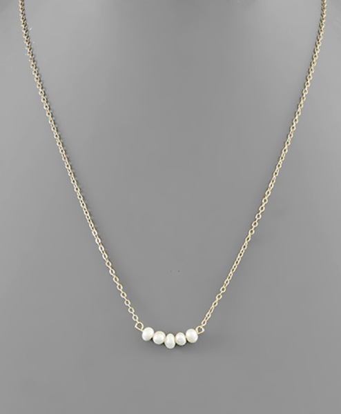 5 Freshwater Pearl Necklace