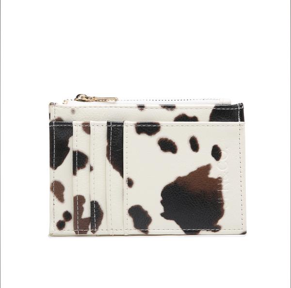 Sia Printed Card Holder Wallet