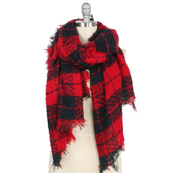 Black/Red Scarf *Final Sale*