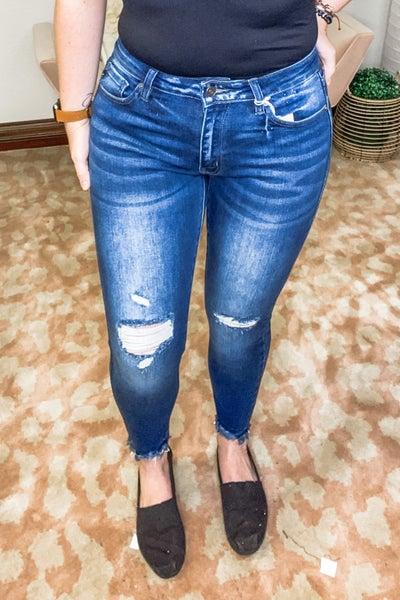 Lover, Lover KanCan Ankle Skinny Jeans