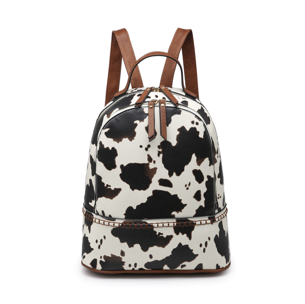 Cow Print Back Pack