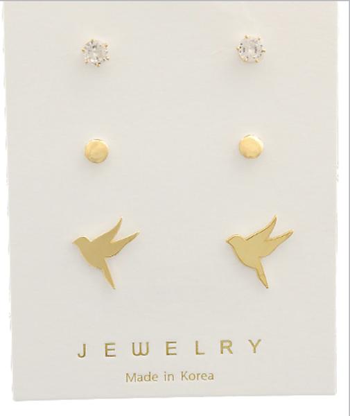 Bird Set Earrings