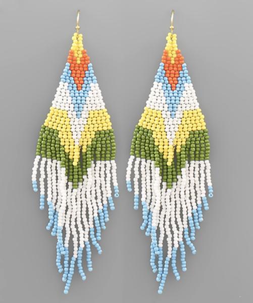 Bright Pop Drop Earrings