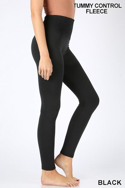 The Fleece Legging with Tummy Control